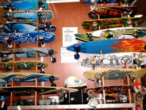 Skateboards available at Fury Skate & Kids.