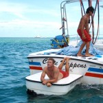 stephen-and-captain-davey-on-the-parasail-boat