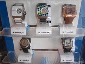 Freestyle wristwatches.
