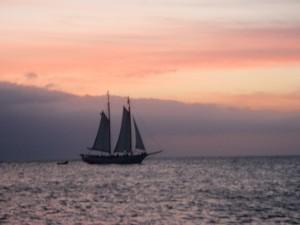A gorgeous Key West sunset.