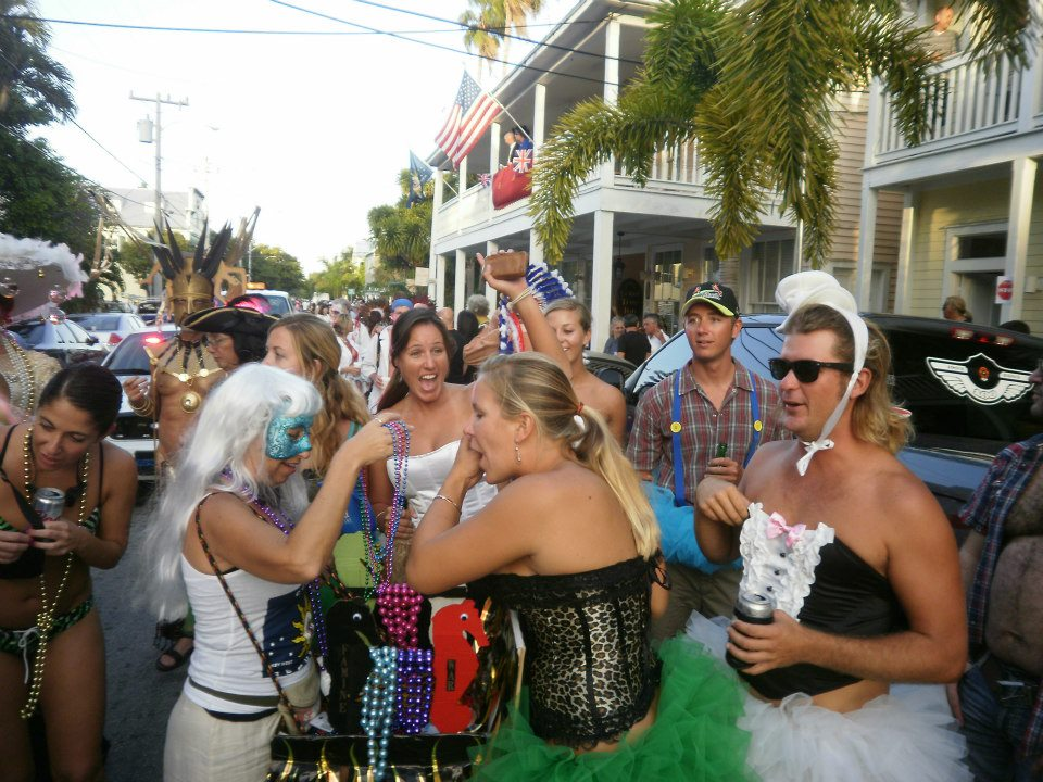 Masquerade March at Key West Fantasy Fest
