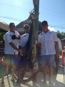 Mahi at Lower Keys Fishing Tournament