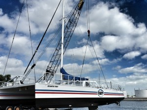Atlantic Fury Catamaran Maintenance