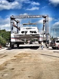 Reef Express Catamaran Maintenance