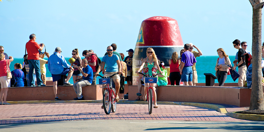 Image of Southernmost Point Key West Bike Rentals