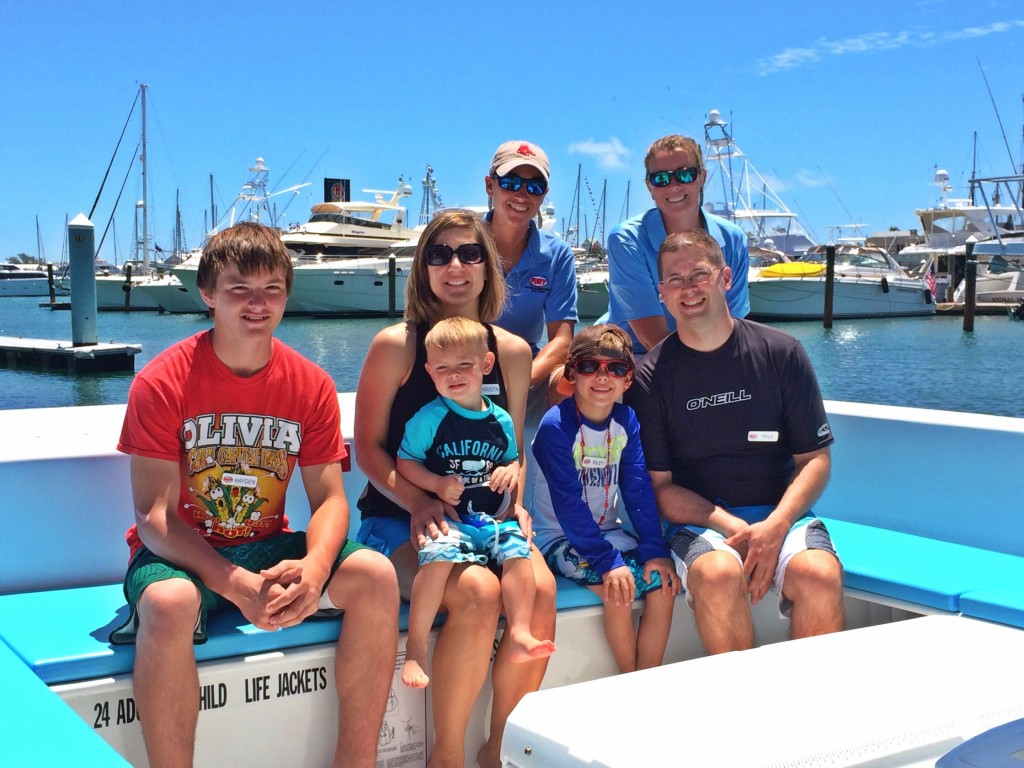 Image of Riley Laumer and family Make-A-Wish