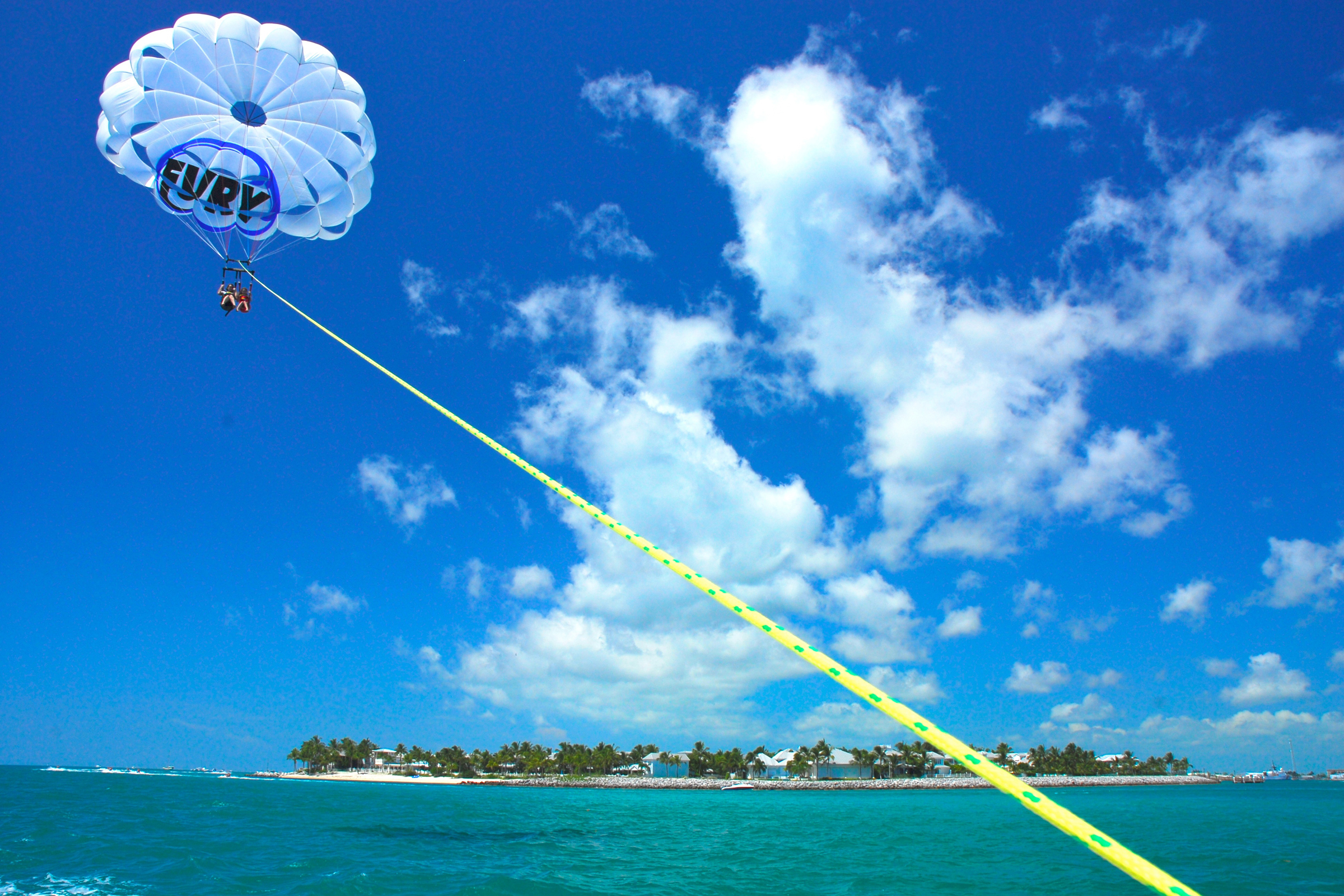 Fury Key West Parasailing Trip