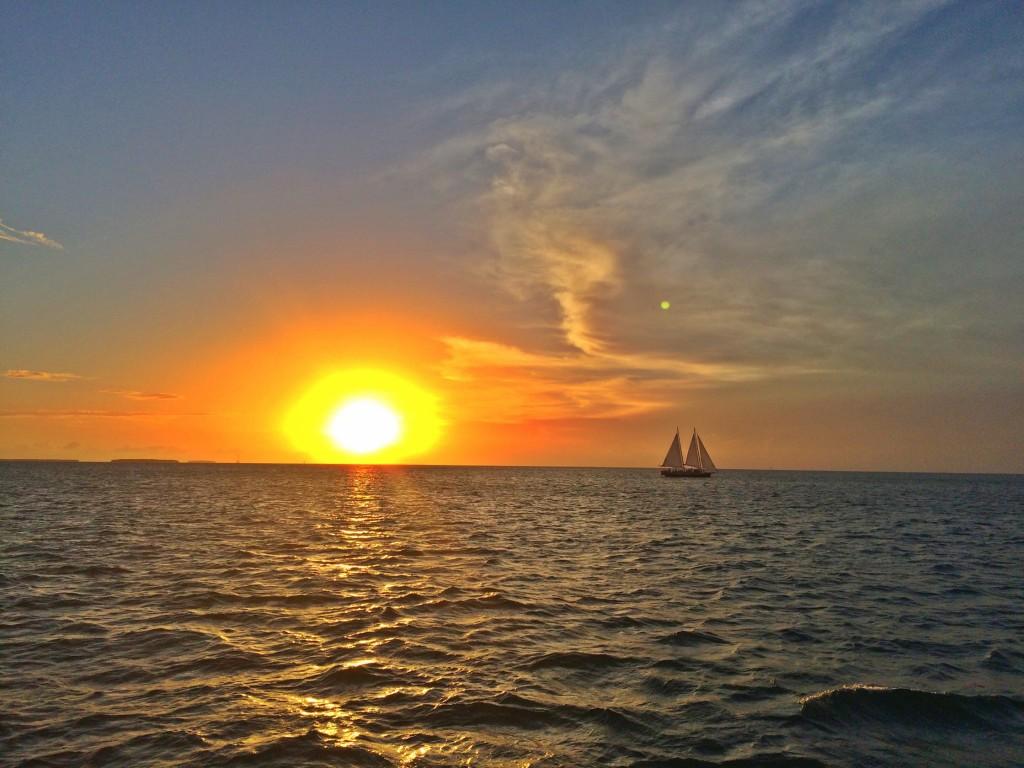 Image of beautiful Key West Sunset