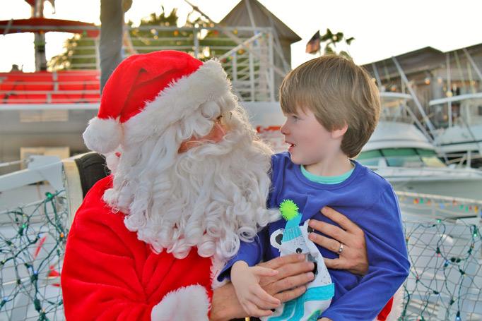 Fury Sail with Santa