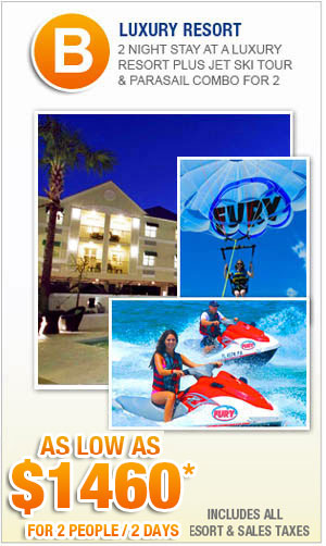 Key West Vacation Packages with Fury Jet Ski Tour
