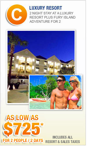 Key West Luxury Resorts Vacation Packages with Fury Island Adventure