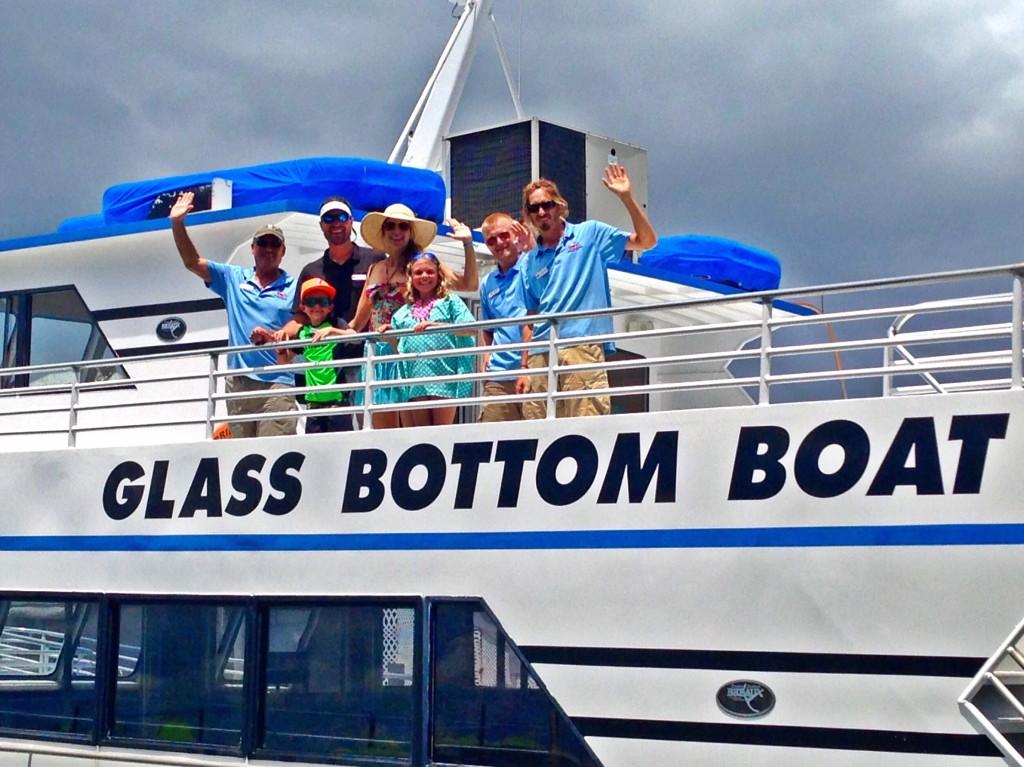 Key West Glass Bottom Boat Tour