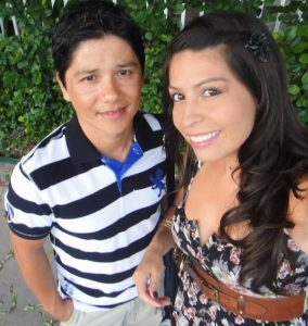 Mariana and Javier, winners of Fury's Facebook Photo Contest