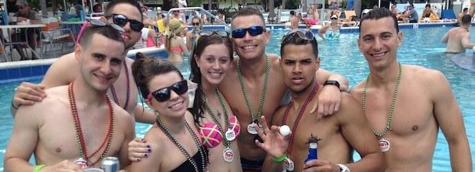 Key West Spring Break Pool Parties