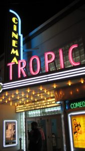 Entrance of the Cinema Tropic in Key West