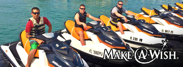 Image of Make A Wish Jet Ski Tour