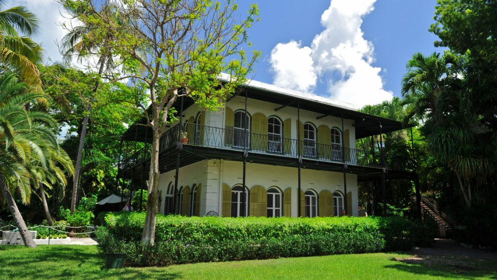 Ernest Hemingway Home and Museum open right now