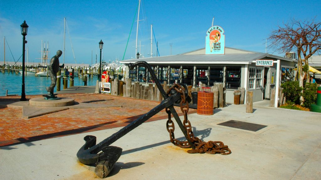 Key West Historic Seaport open right now