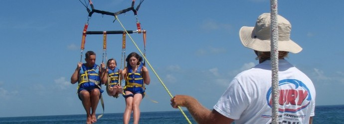 Let's go parasailing!