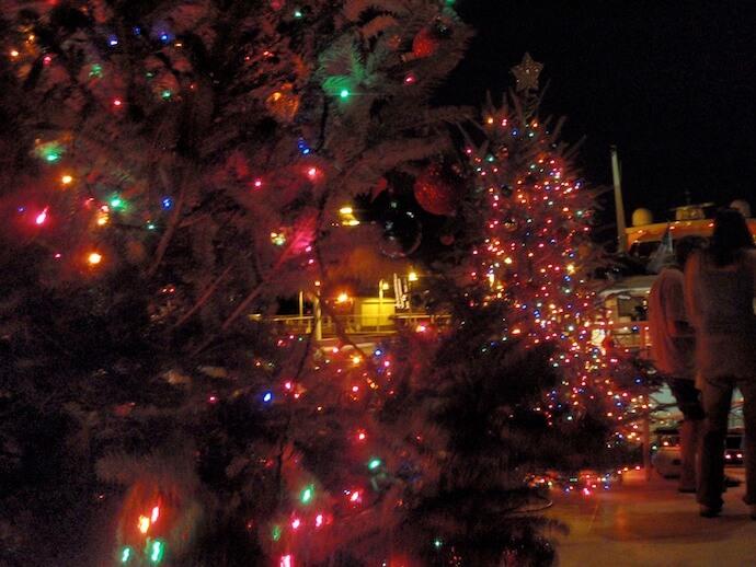 Christmas tree in Key West