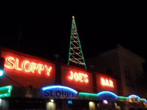 Sloppy Joe's at Christmas
