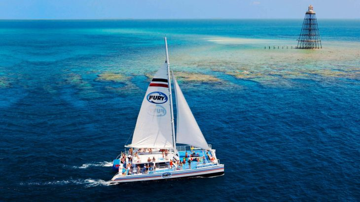Image of Key West Fury catamaran