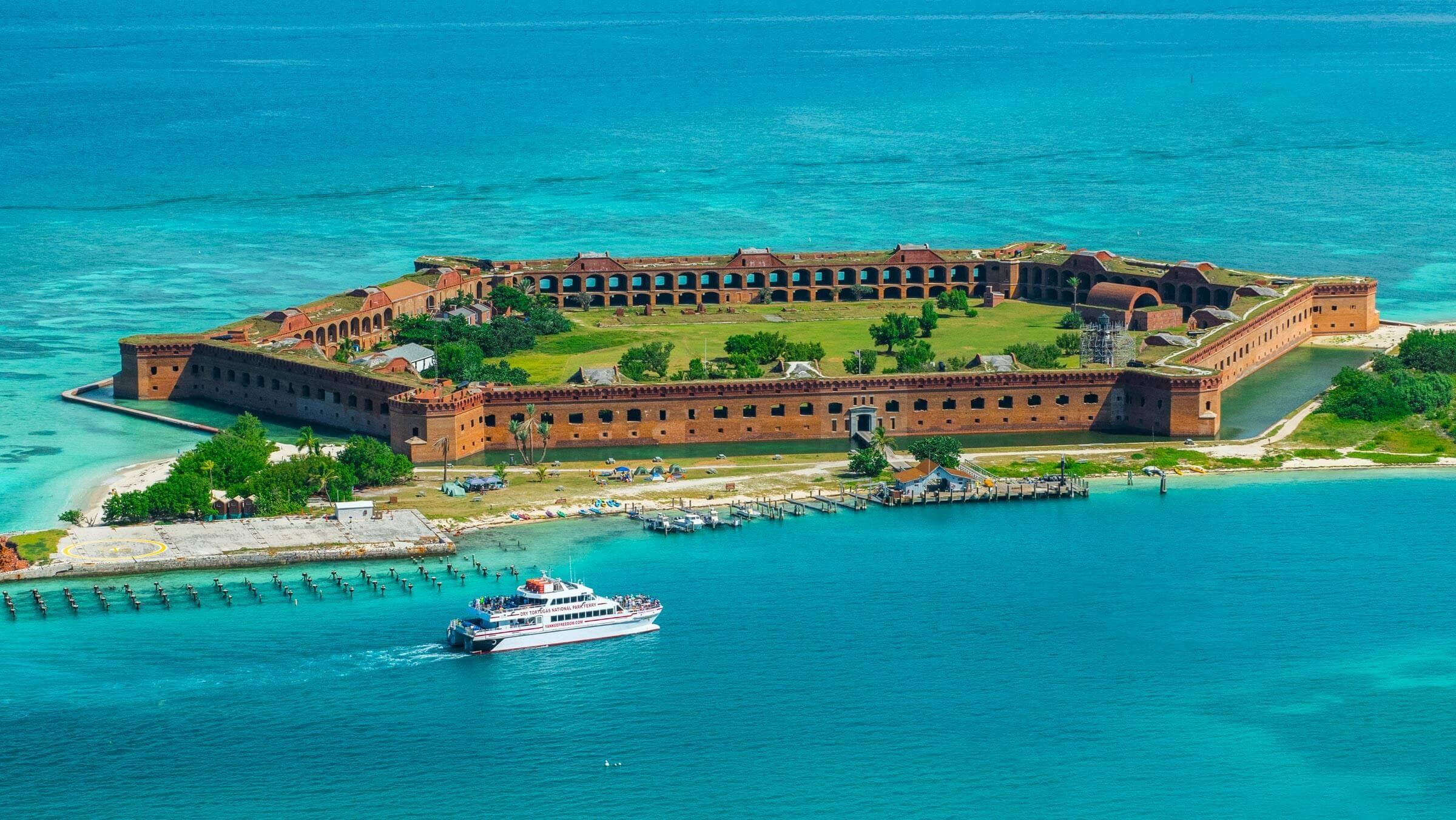 Dry Tortugas and Fort Jefferson