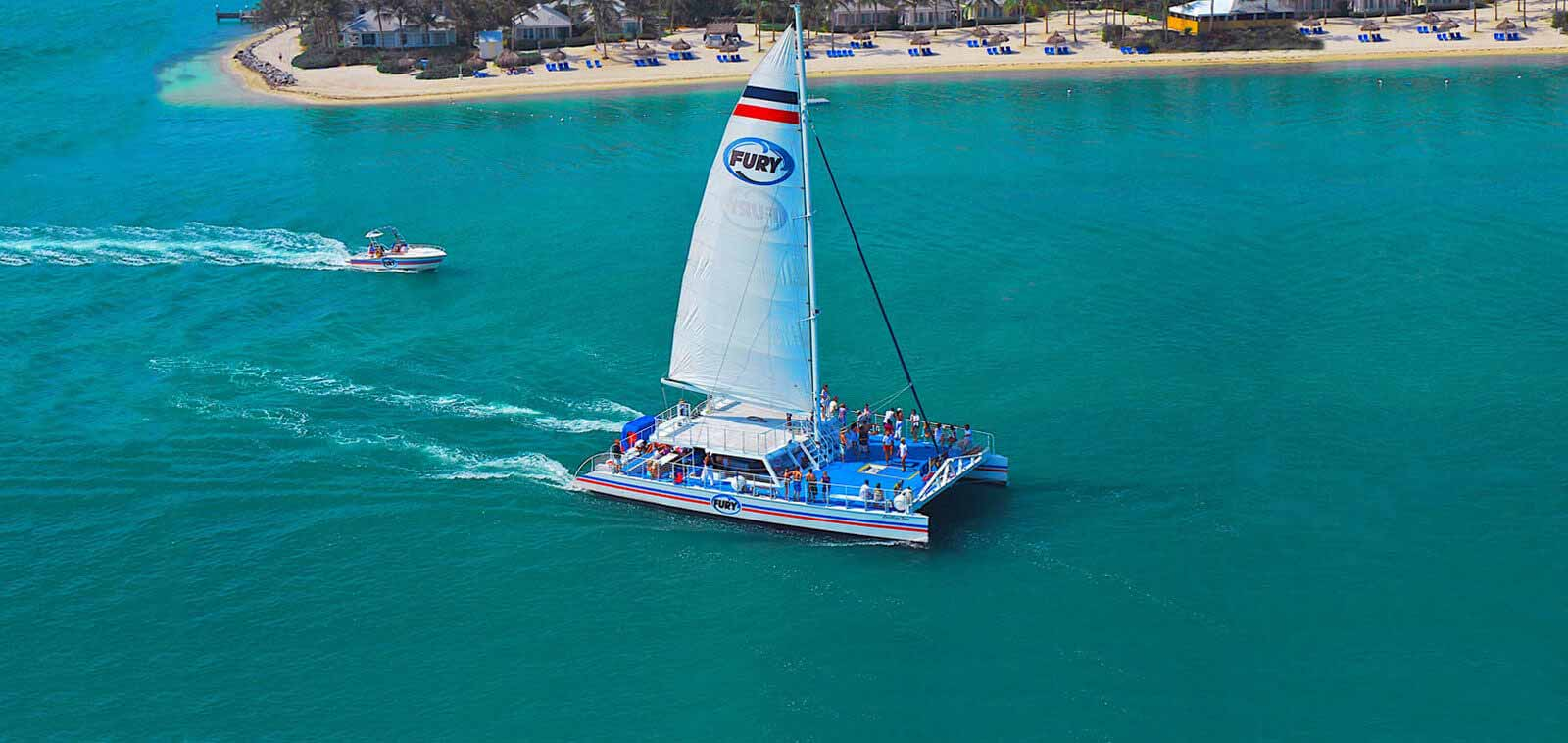 Key West Watersports Adventure on Fury Catamaran