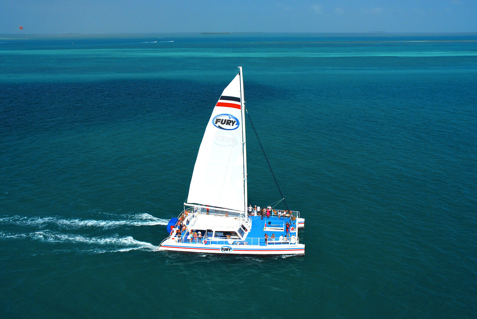Fury catamaran in Key West
