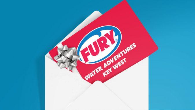 Fury gift card