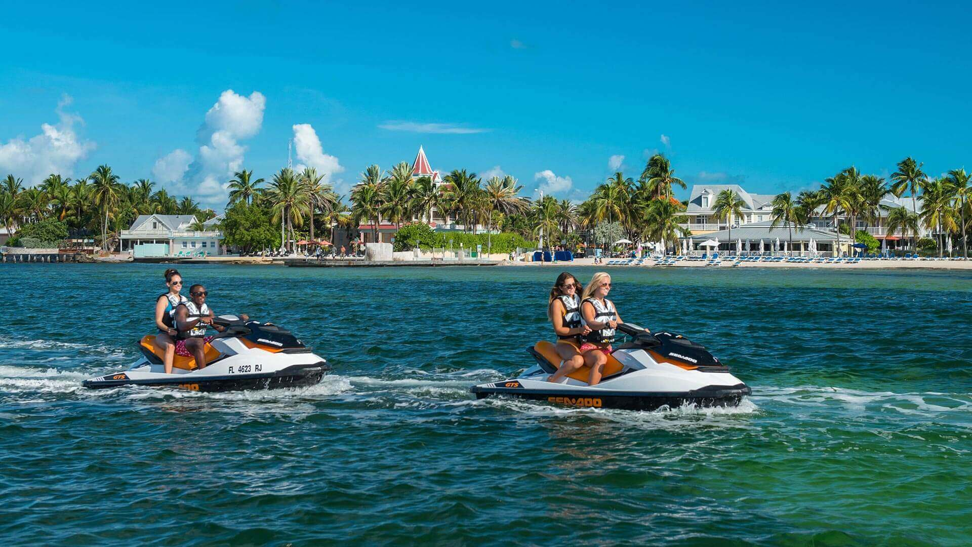 fury key west jet ski tours