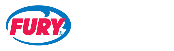 Fury logo made up of an oval shaped wave and the word 'FURY' inside of it. To the right are the words 'WATER ADVENTURES KEY WEST' stacked in three lines.