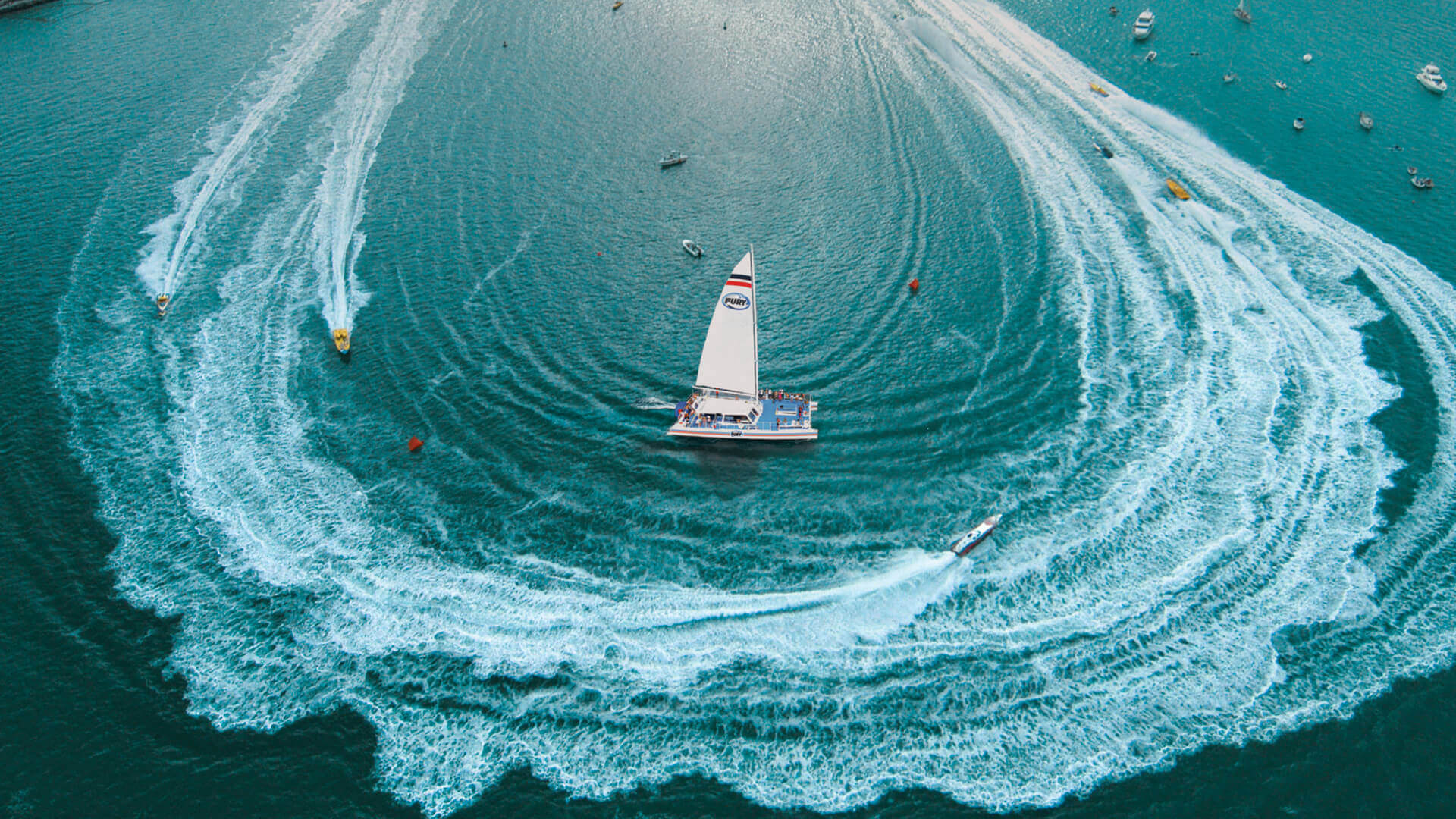 Key West Power Boat Races 2018 With Fury Water Adventures