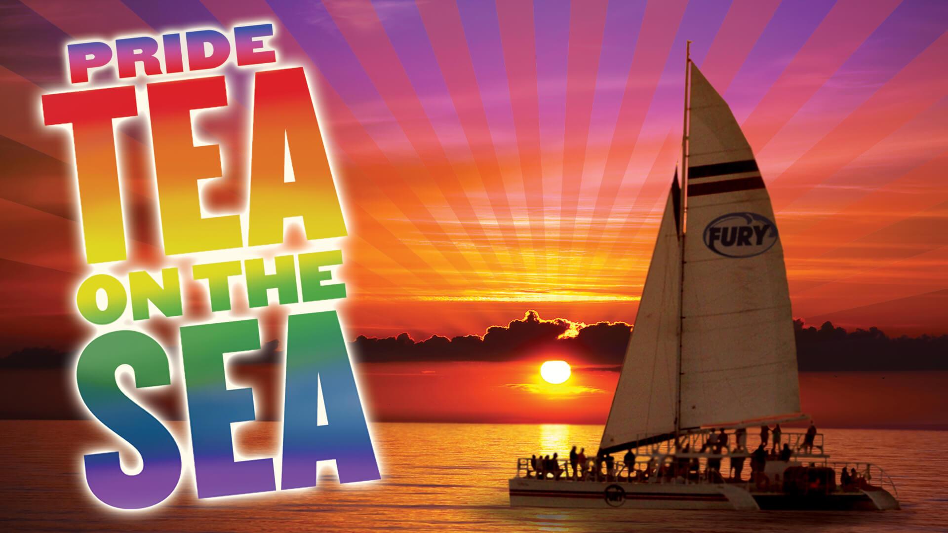 Pride Tea on the Sea
