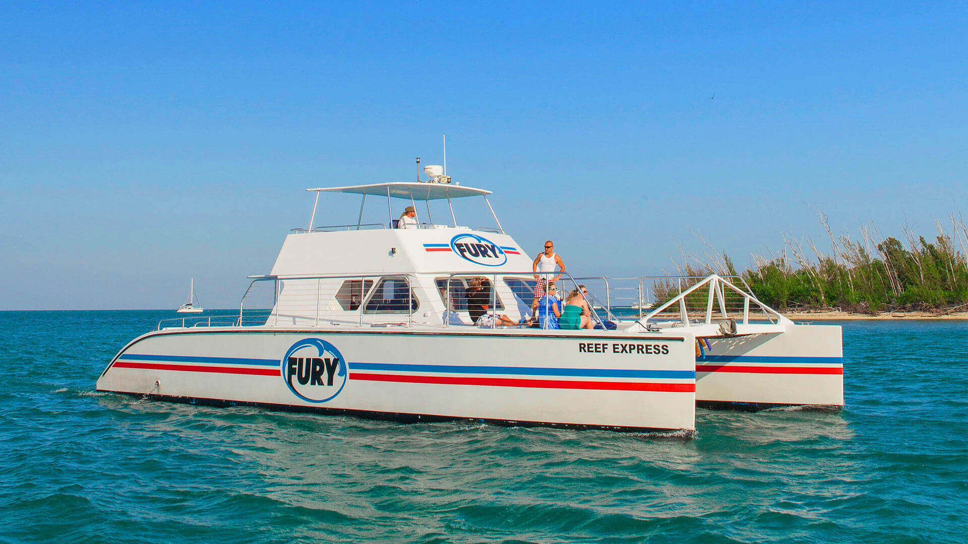 Fury's 57' Power Catamaran