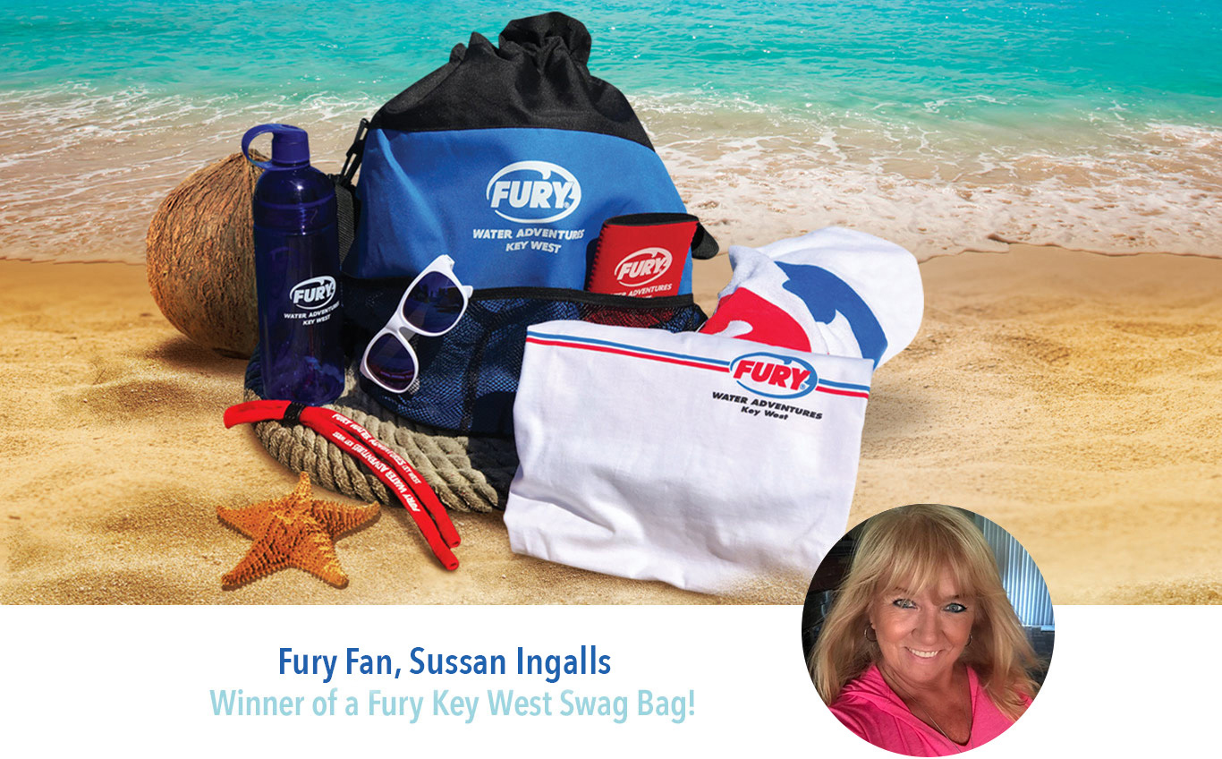 fury swag bag winner sussan ingalls