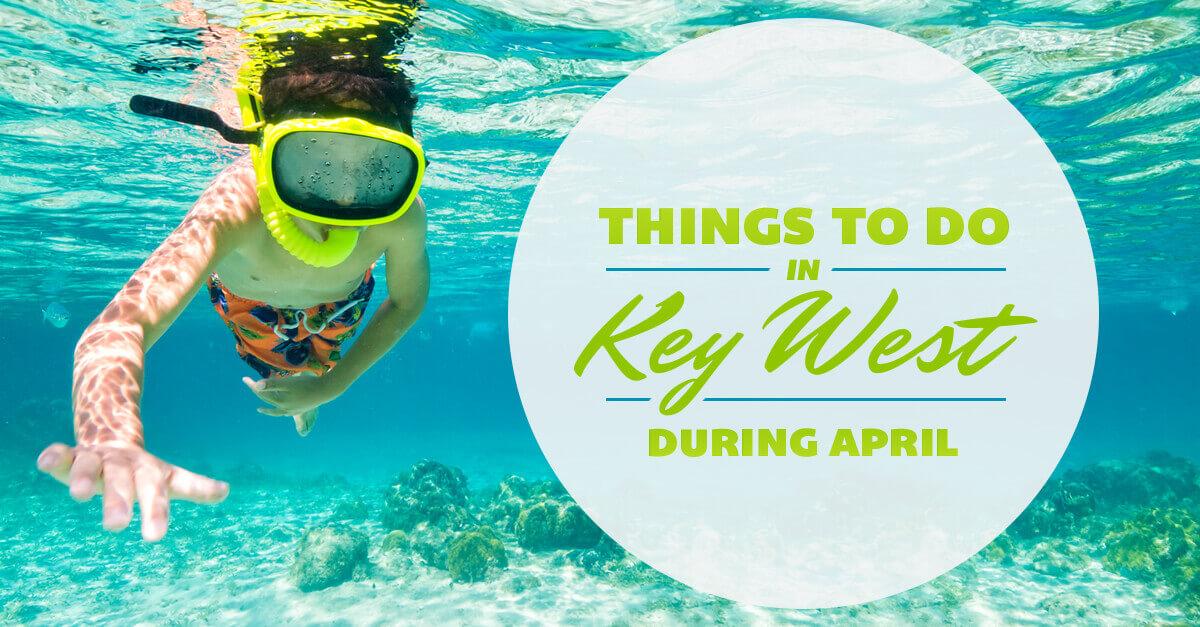 Kid snorkeling in Key West waters
