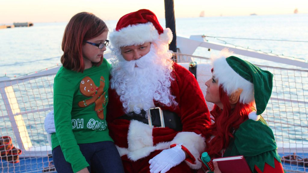 Sail with Santa Sunset Sail with Fury Water Adventures