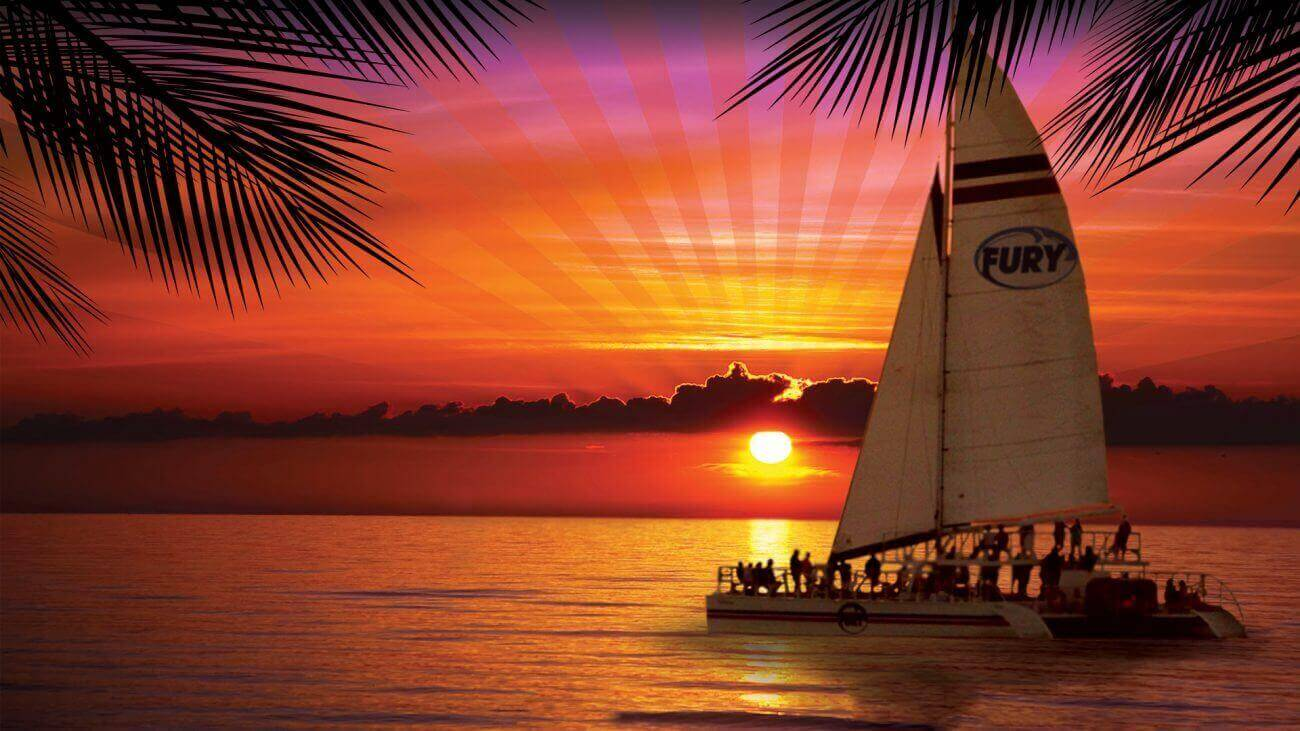Image of Fury sunset cruise in Key West