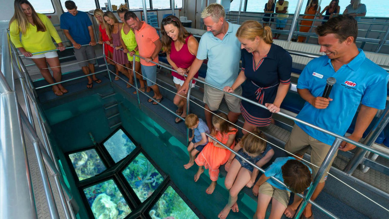 Key West Glass Bottom Boat Tours