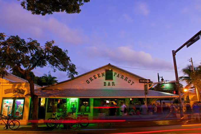 The Green Parrot Bar in Key West
