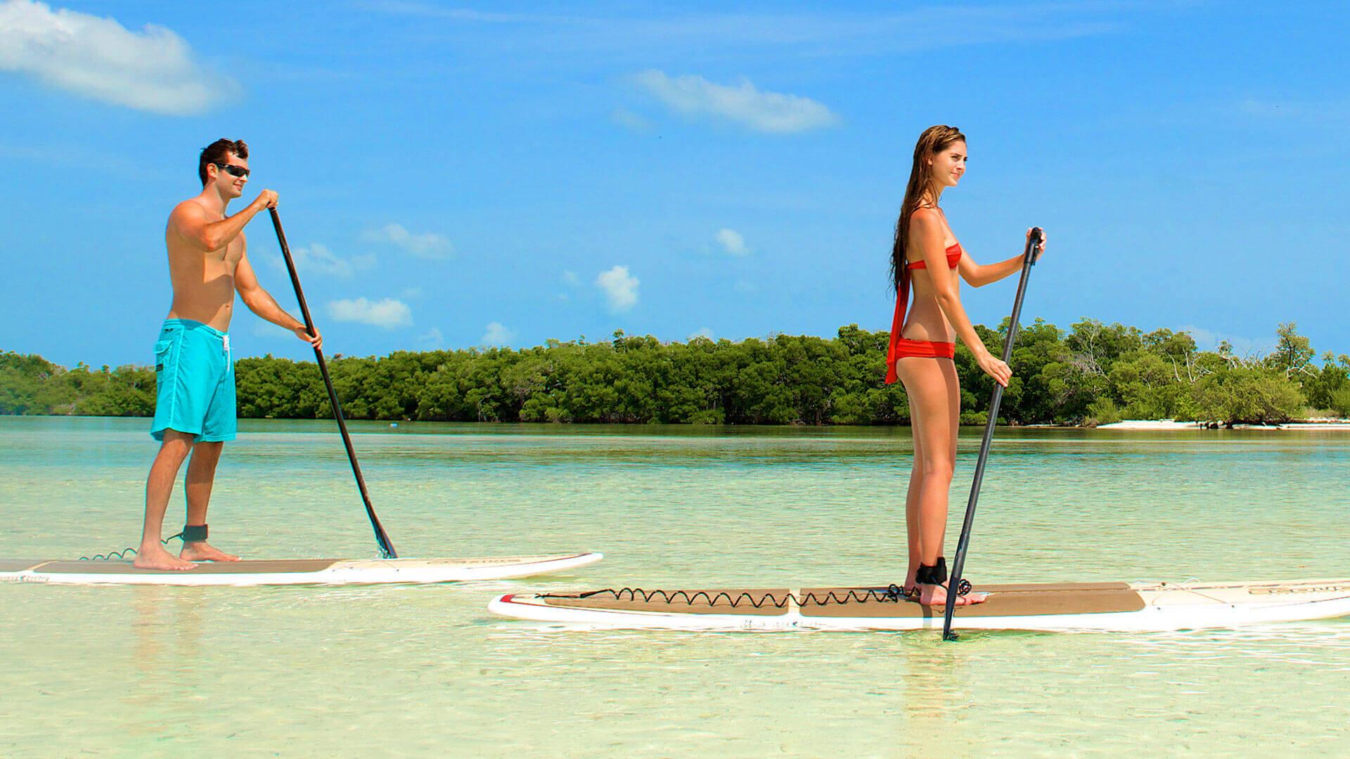 Image of people kayaking in Key West