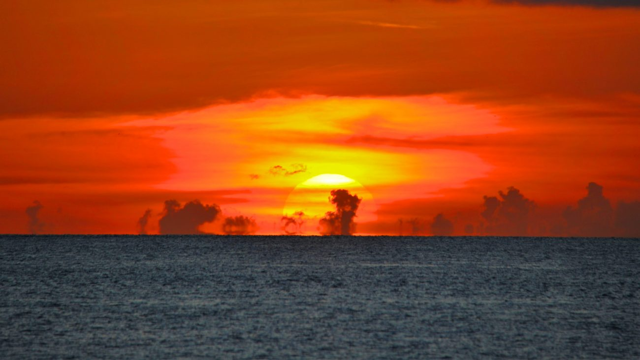 View of Key West sunset