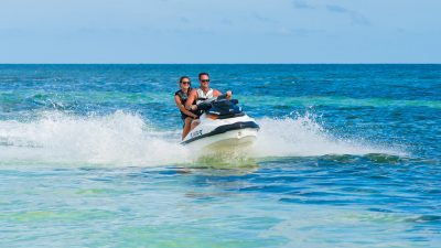 Image of people on a Fury Jet Ski Tour