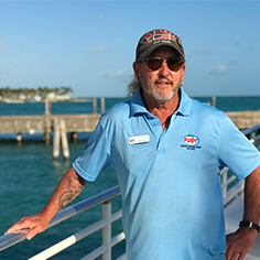Key West Boat Captain Brian