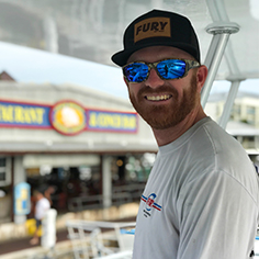 Fury Key West Captain Chris