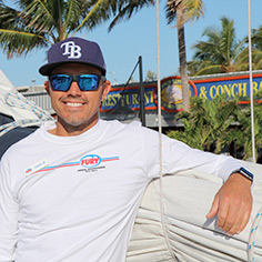 Fury Key West Captain JB