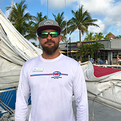 Fury Key West Captain Monte