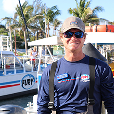 Fury Key West Captain Ryan