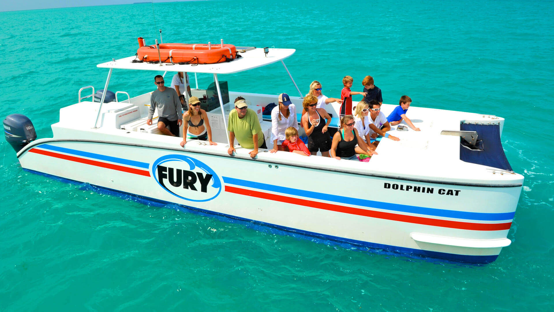 Image of Fury Dolphin Cat boat